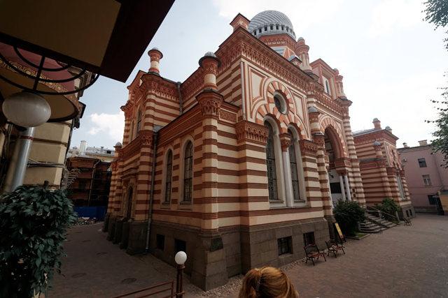 圣彼得堡大合唱犹太教堂_图1-3
