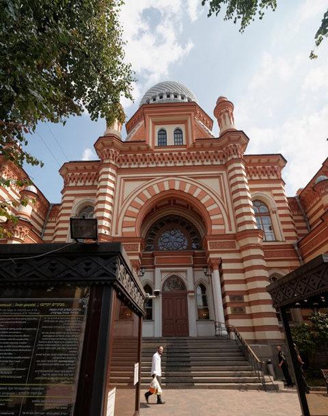 圣彼得堡大合唱犹太教堂_图1-6