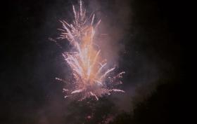 新泽西小镇125岁生日焰火实录