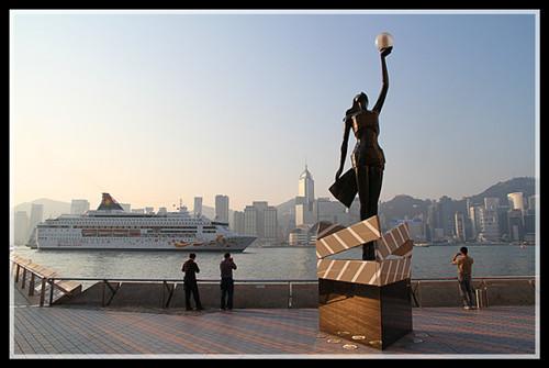 【原创】徜徉在香港星光大道上_图1-1