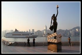 【原创】徜徉在香港星光大道上