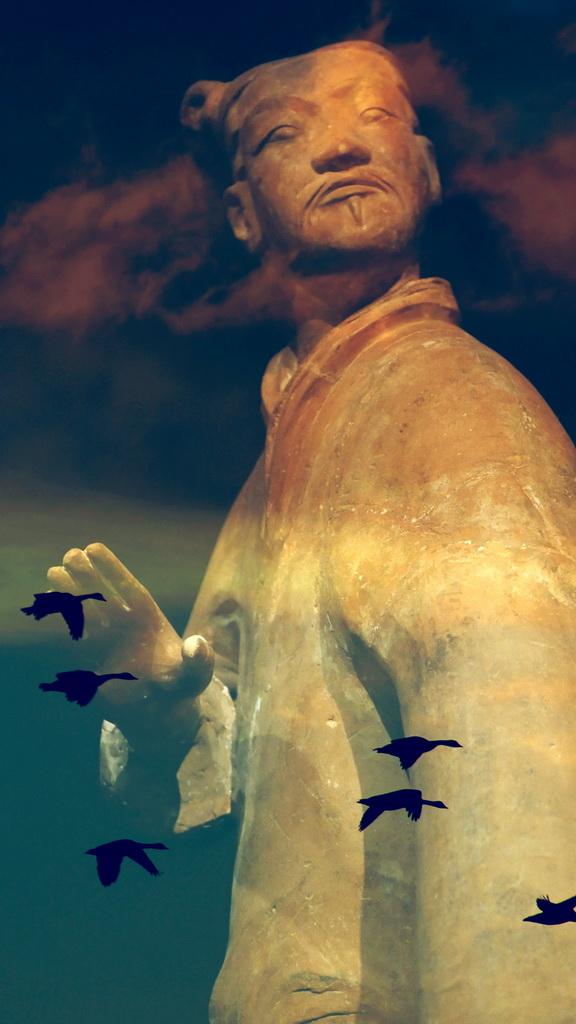 【老谢凭栏】男儿志在四方,当忧天下之忧而忧。_图1-1