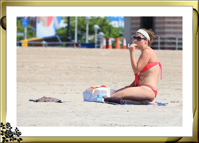 纽约康尼岛海滩夏日风情_图1-8