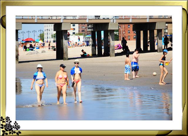 纽约康尼岛海滩夏日风情_图1-11
