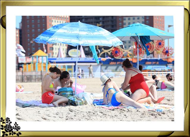 纽约康尼岛海滩夏日风情_图1-21