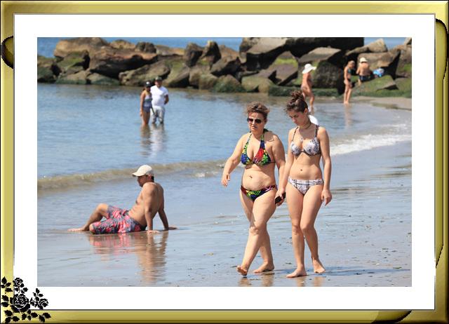 纽约康尼岛海滩夏日风情_图1-22