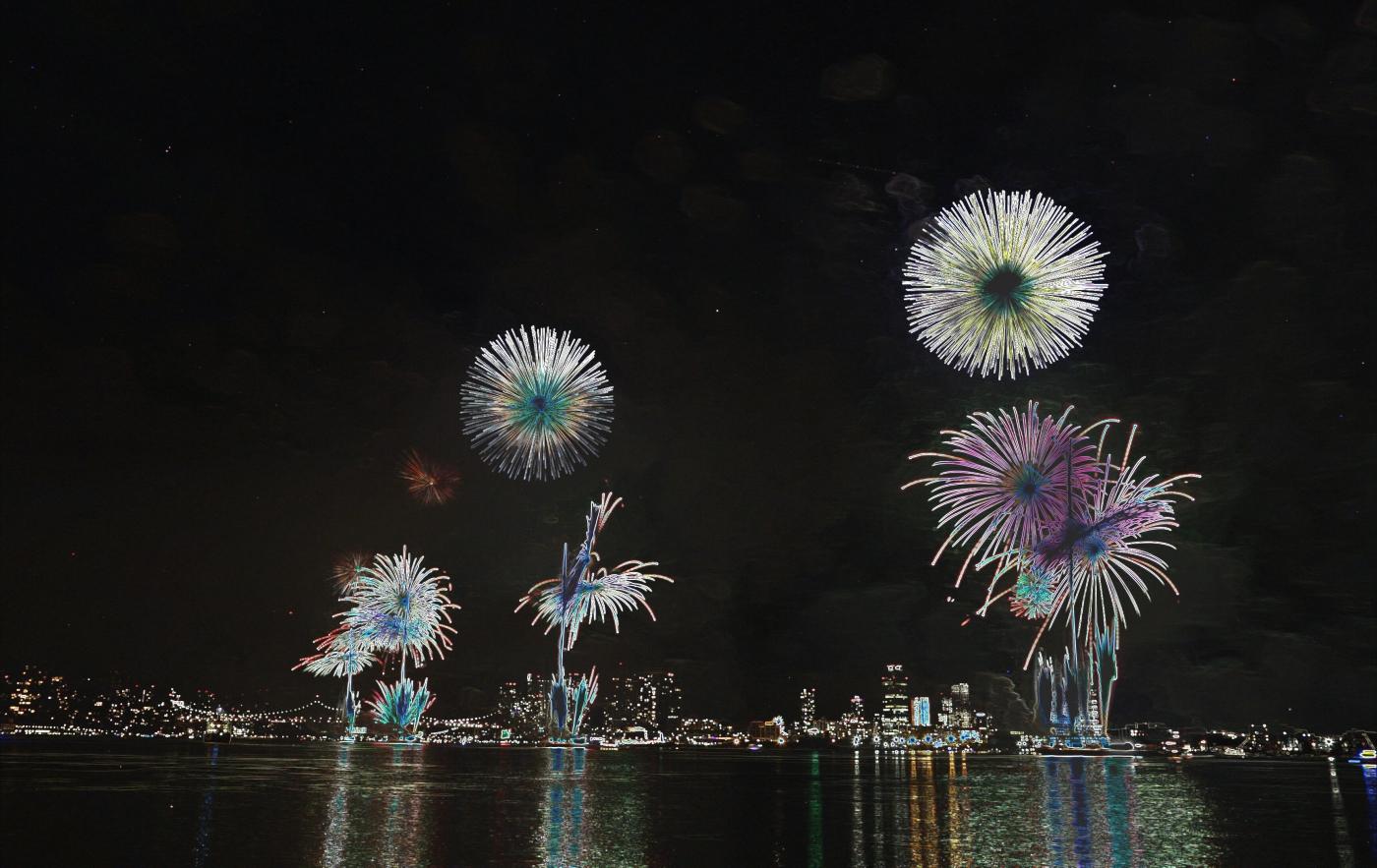 【田螺摄影】记录拍摄2017美国烟火秀_图1-29