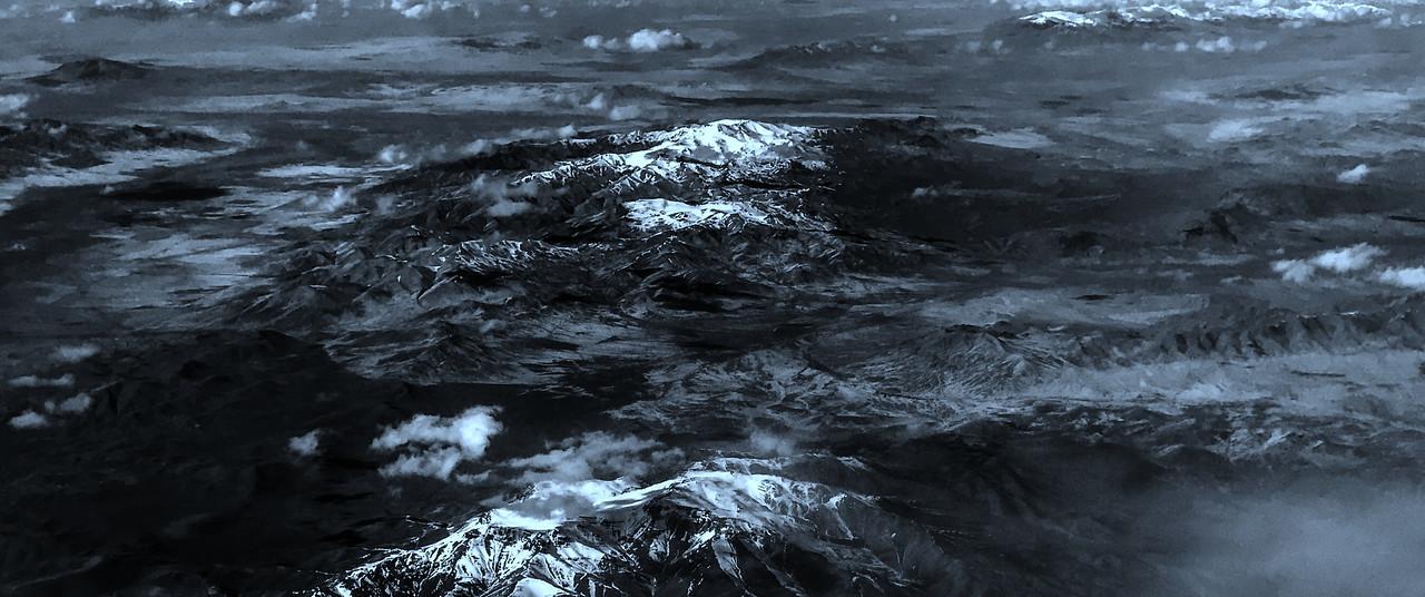 雪山林立,来自高空摄影_图1-8