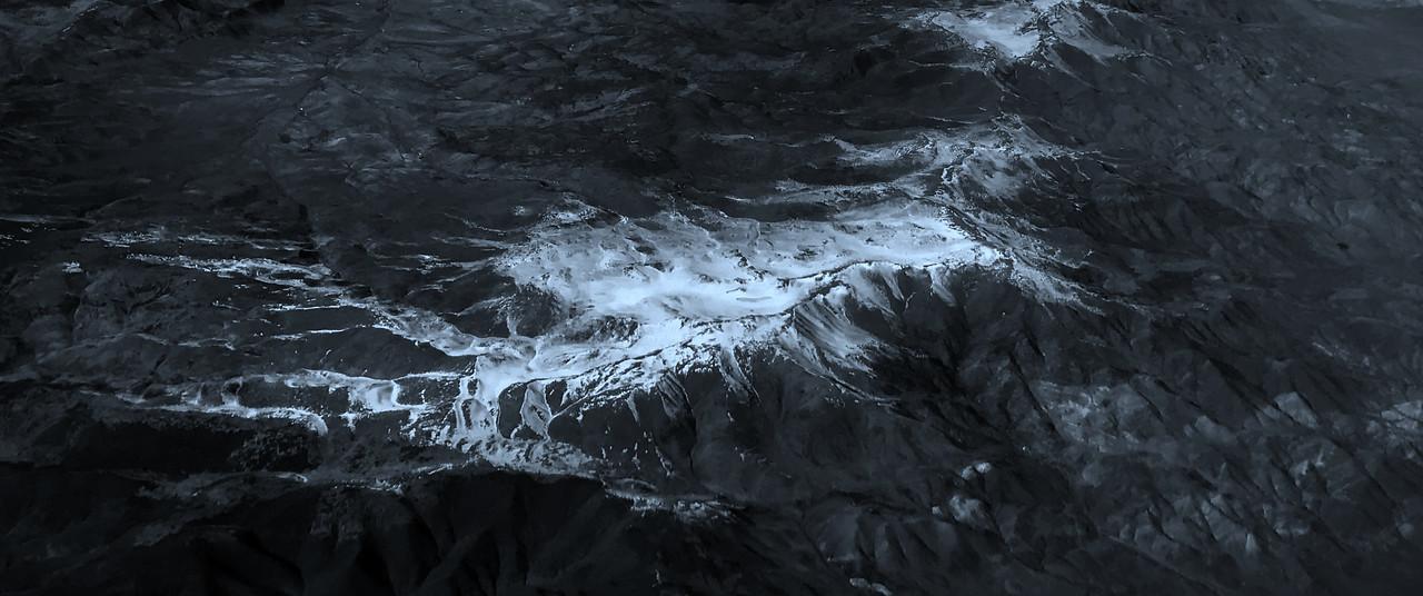 雪山林立,来自高空摄影_图1-5