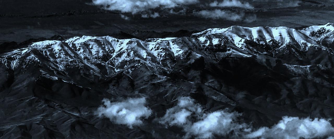 雪山林立,来自高空摄影_图1-4
