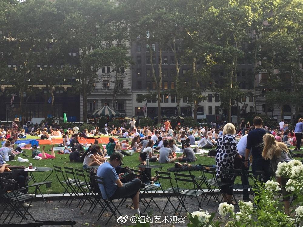 曼哈顿布莱茵公园夏日电影节_图1-1