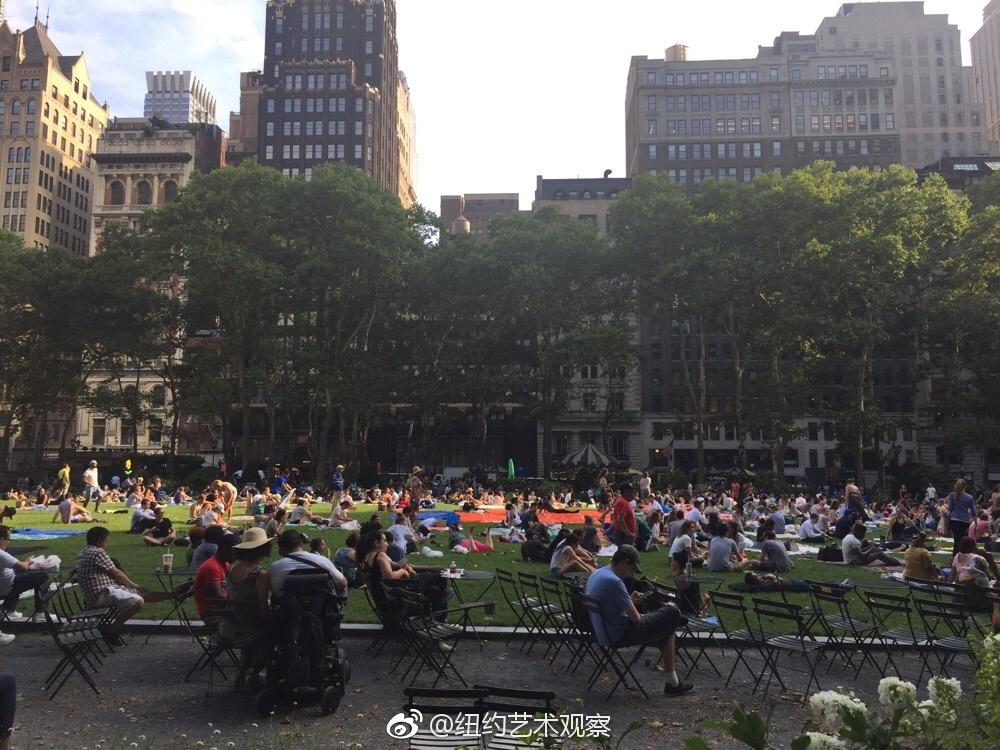 曼哈顿布莱茵公园夏日电影节_图1-2
