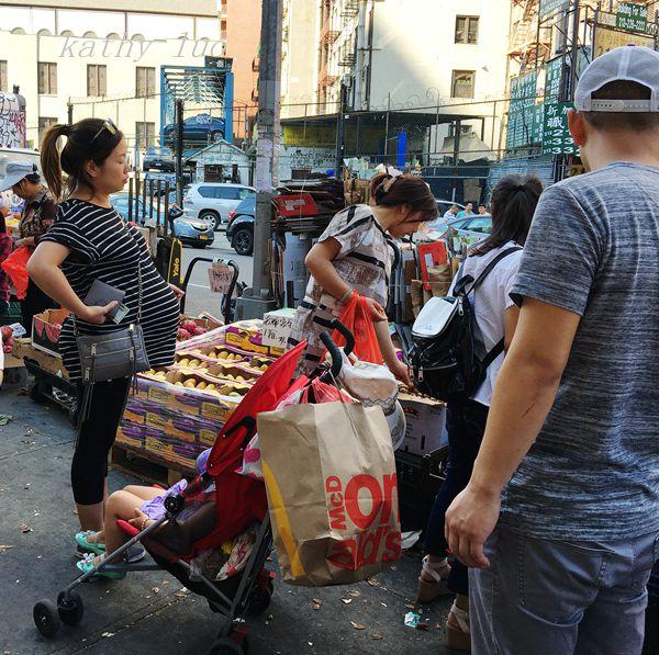 【小虫摄影】纽约唐人街的集市_图1-4