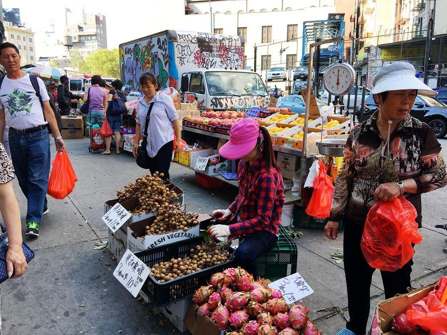 【小虫摄影】纽约唐人街的集市_图1-6