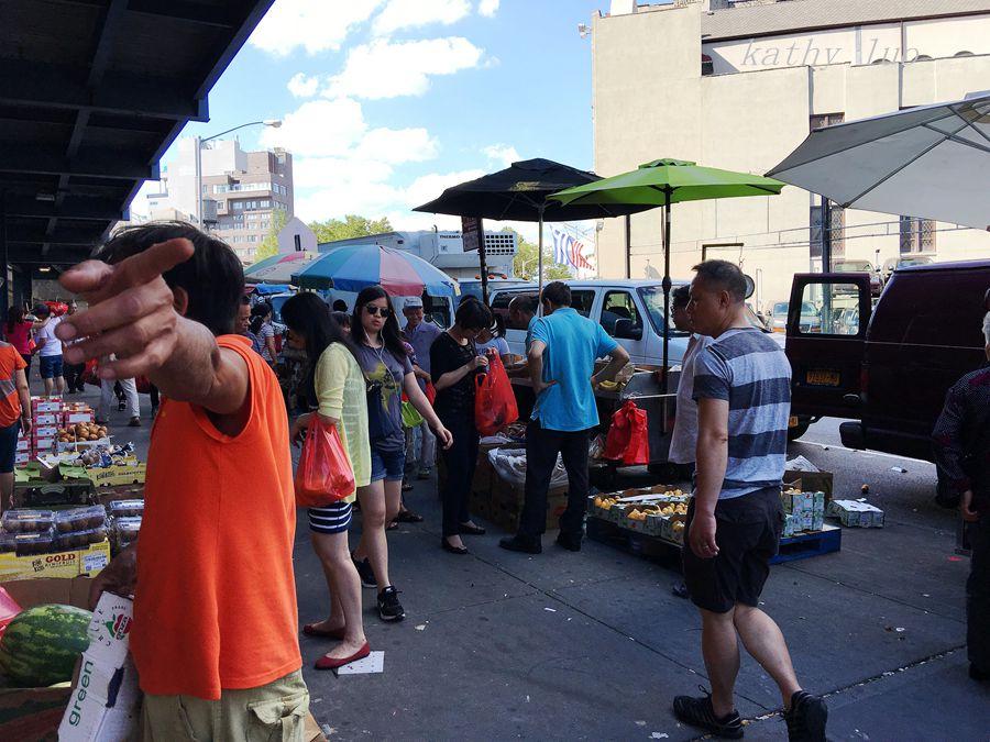 【小虫摄影】纽约唐人街的集市_图1-11