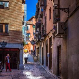 西班牙小镇的小弄堂