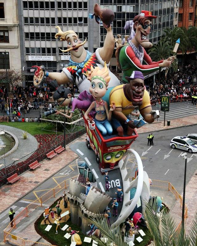 巴伦西亚城法利斯节日  2_图1-6