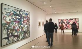 MoMA战后女性艺术家抽象艺术作品精选