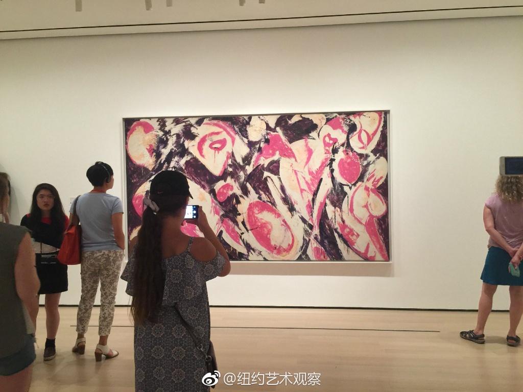 MoMA战后女性艺术家抽象艺术作品精选_图1-2