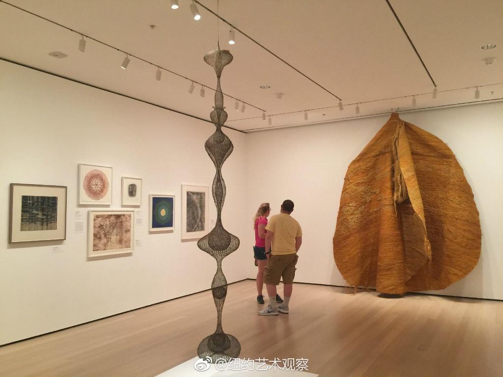 MoMA战后女性艺术家抽象艺术作