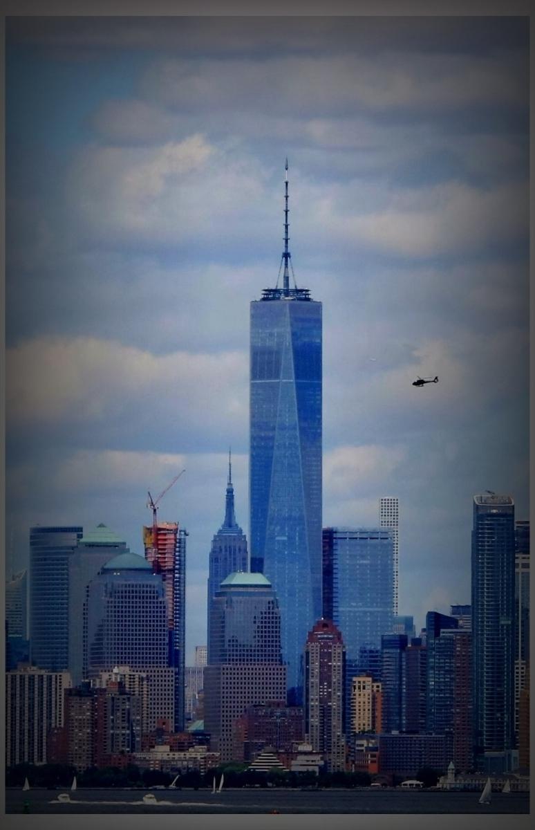 鸟瞰纽约新世贸中心_图1-1