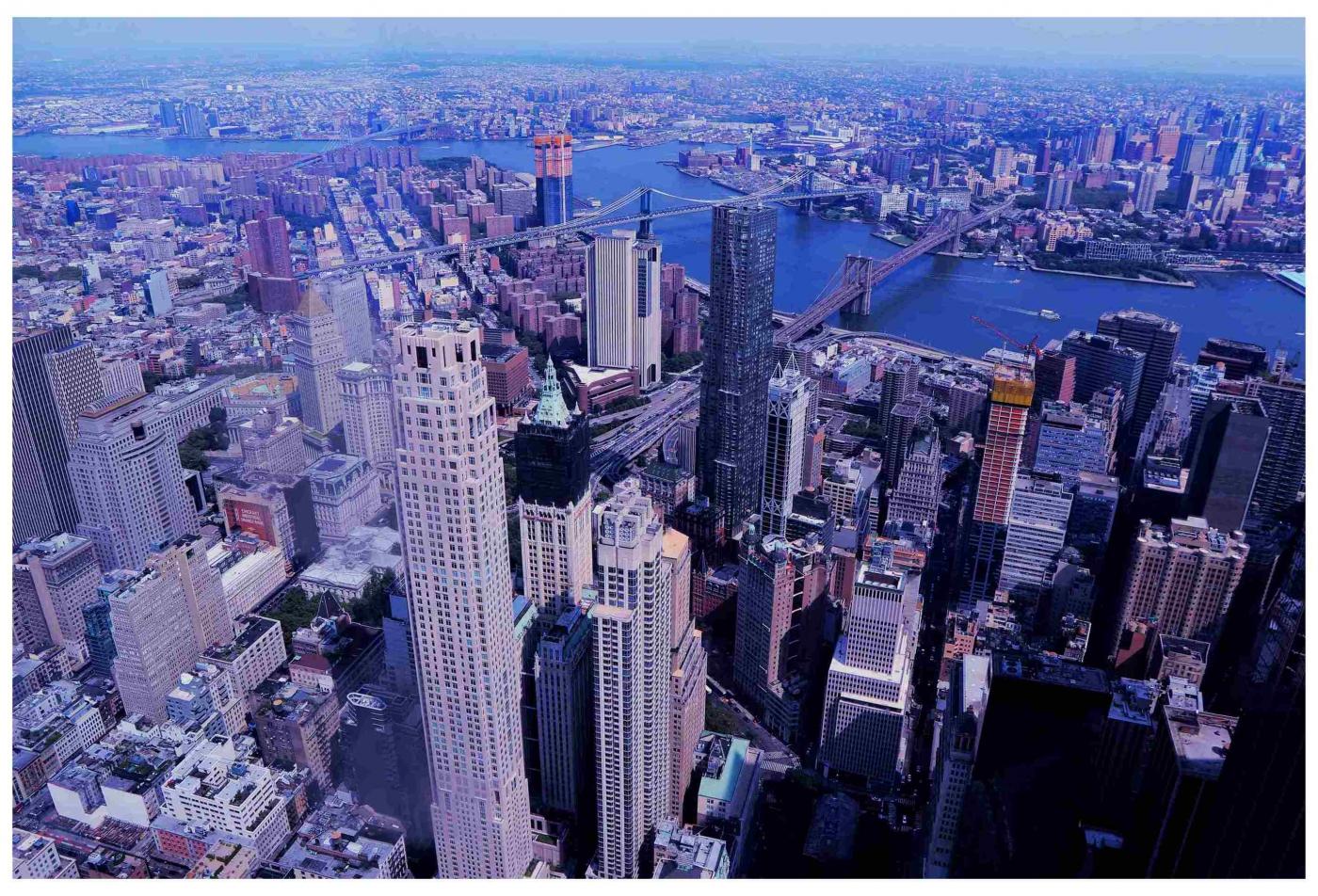 鸟瞰纽约新世贸中心_图1-5