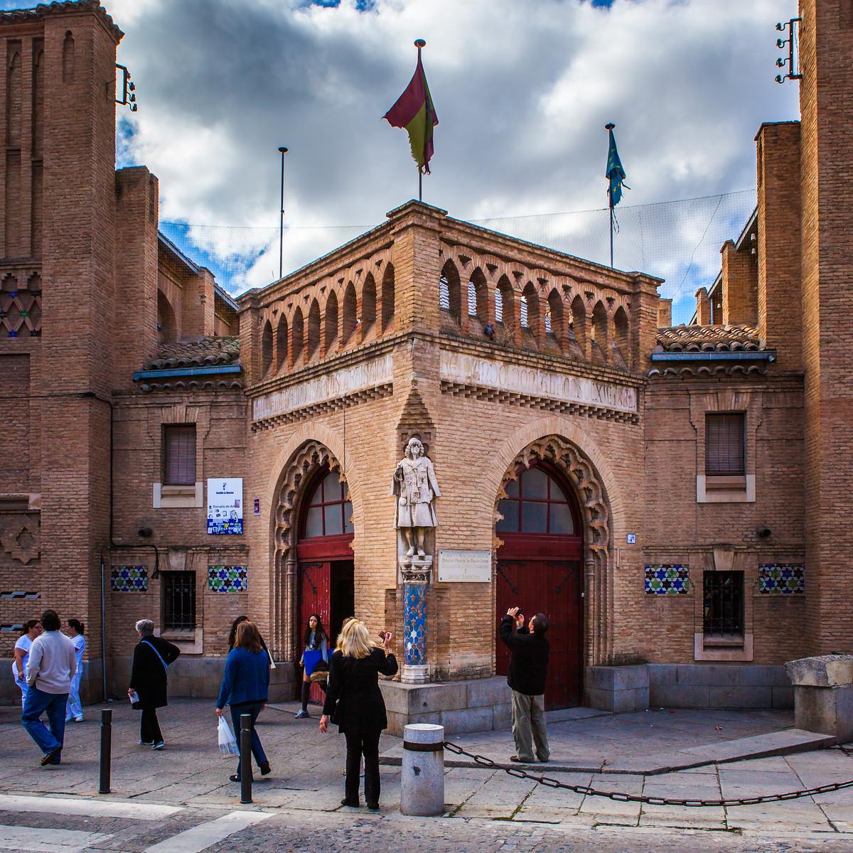 西班牙小鎮的古建築,走近看一看_圖1-1