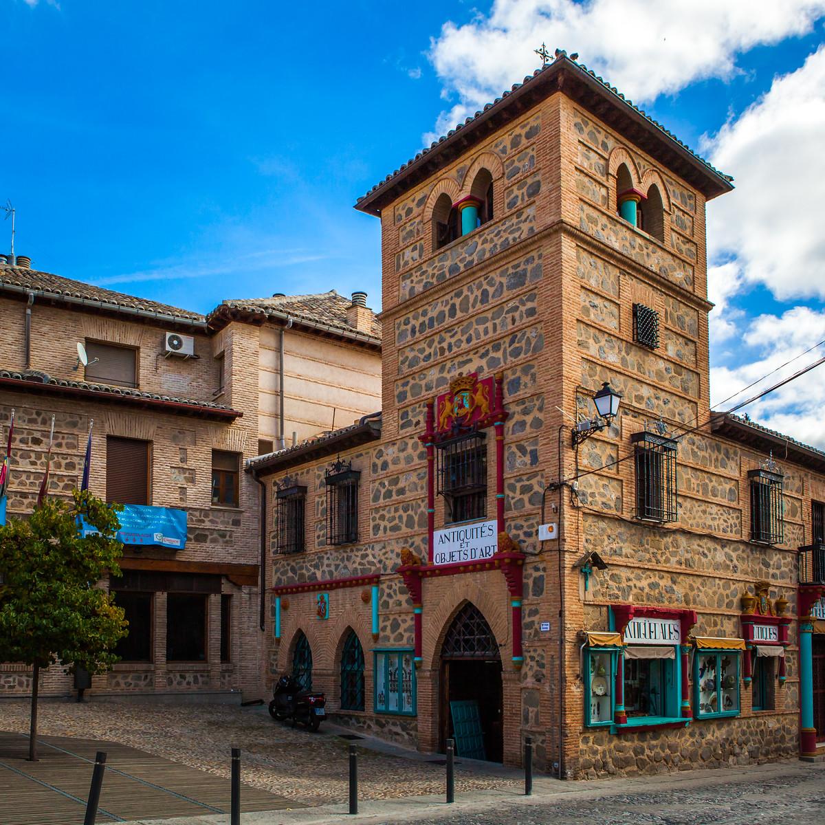 西班牙小鎮的古建築,走近看一看_圖1-6