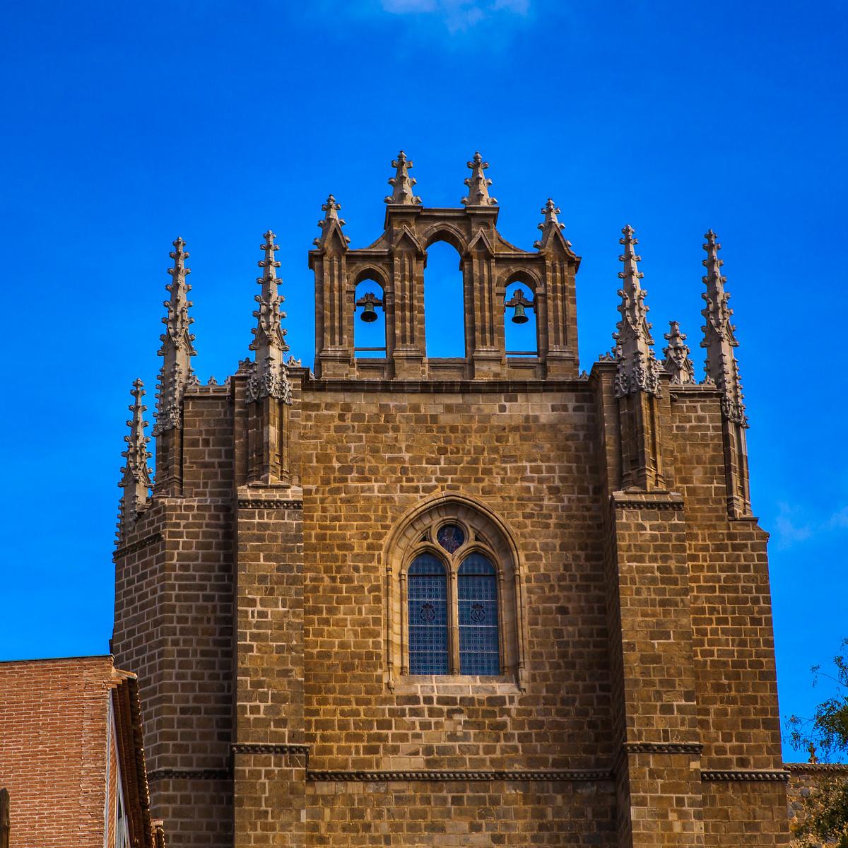 西班牙小鎮的古建築,走近看一看_圖1-7