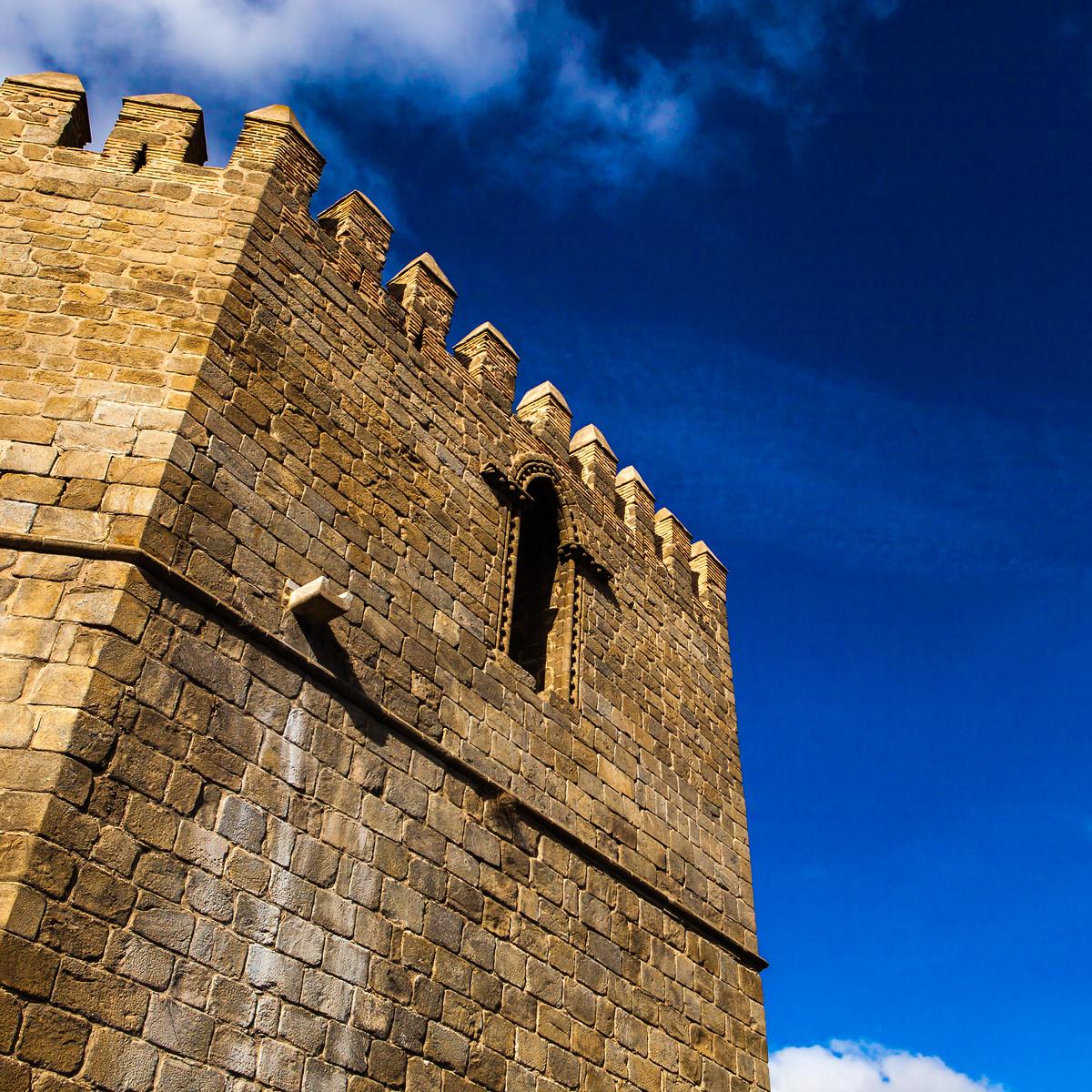 西班牙小鎮的古建築,走近看一看_圖1-10