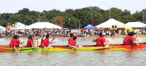 2017纽约香港国际龙舟赛8月12至13日登场_图1-2