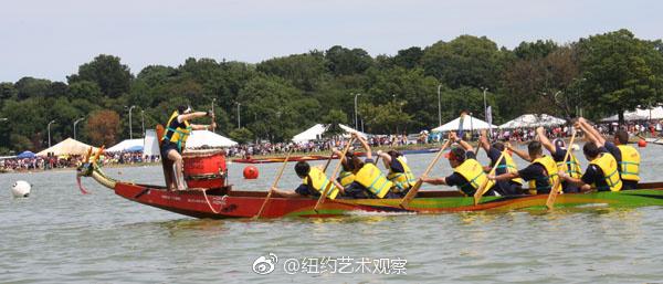 2017纽约香港国际龙舟赛8月12至13日登场_图1-3