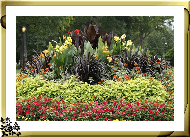 法拉盛可乐娜公园地球仪喷水池风光_图1-6