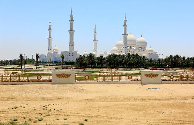 阿布扎比大清真寺_图1-2