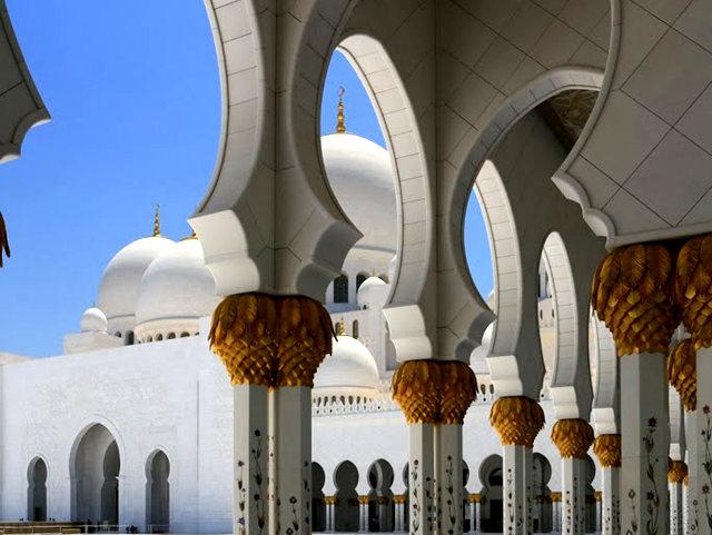 阿布扎比大清真寺_图1-9