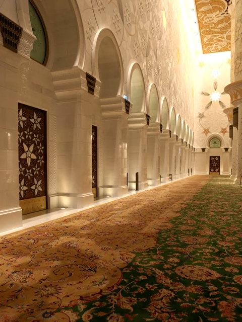 阿布扎比大清真寺_图1-31