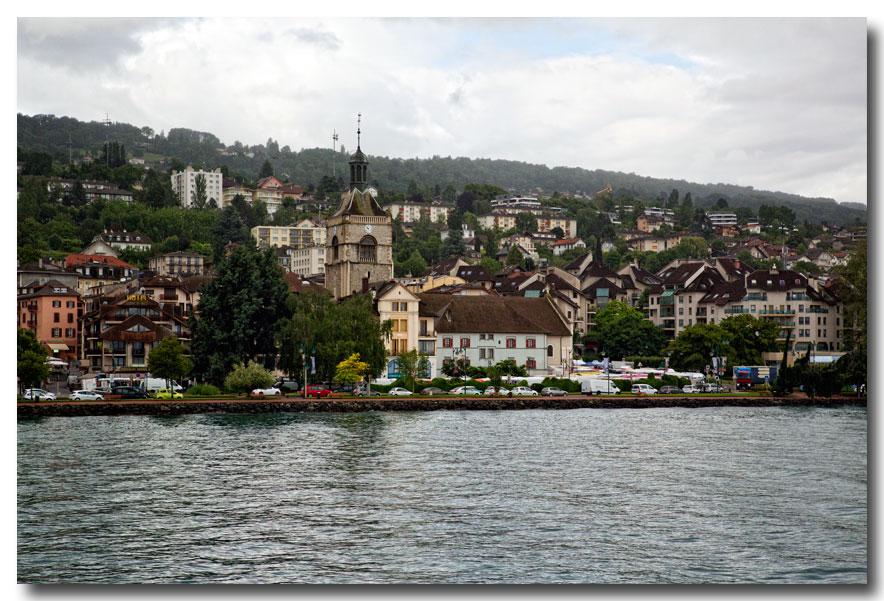 《酒一船摄影》- 瑞士行:日内瓦湖畔的法国小镇_图1-3
