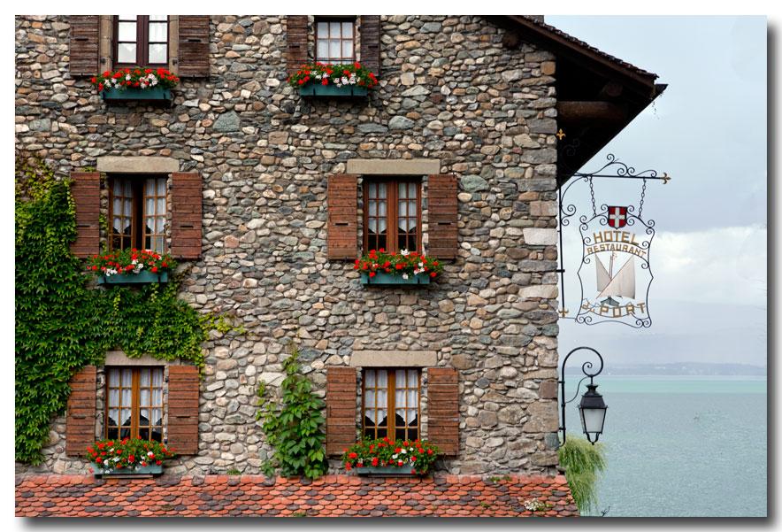 《酒一船摄影》- 瑞士行:日内瓦湖畔的法国小镇_图1-22