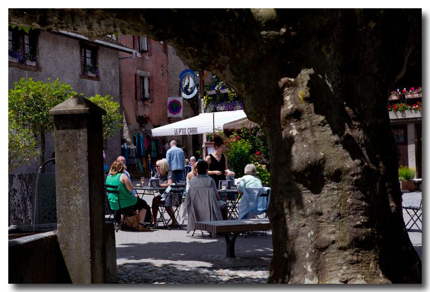 《酒一船摄影》- 瑞士行:日内瓦湖畔的法国小镇_图1-35
