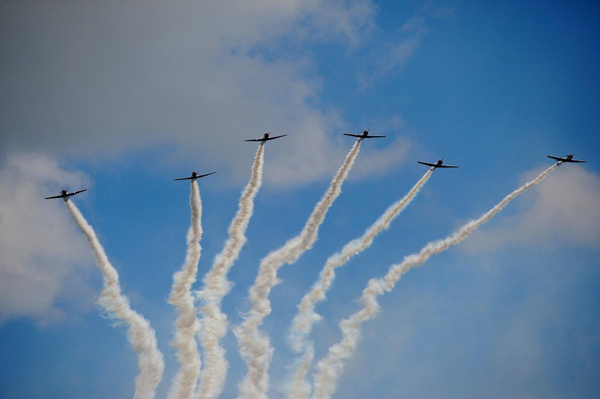 飞行表演 - Air Show, Westfield MA_图1-50
