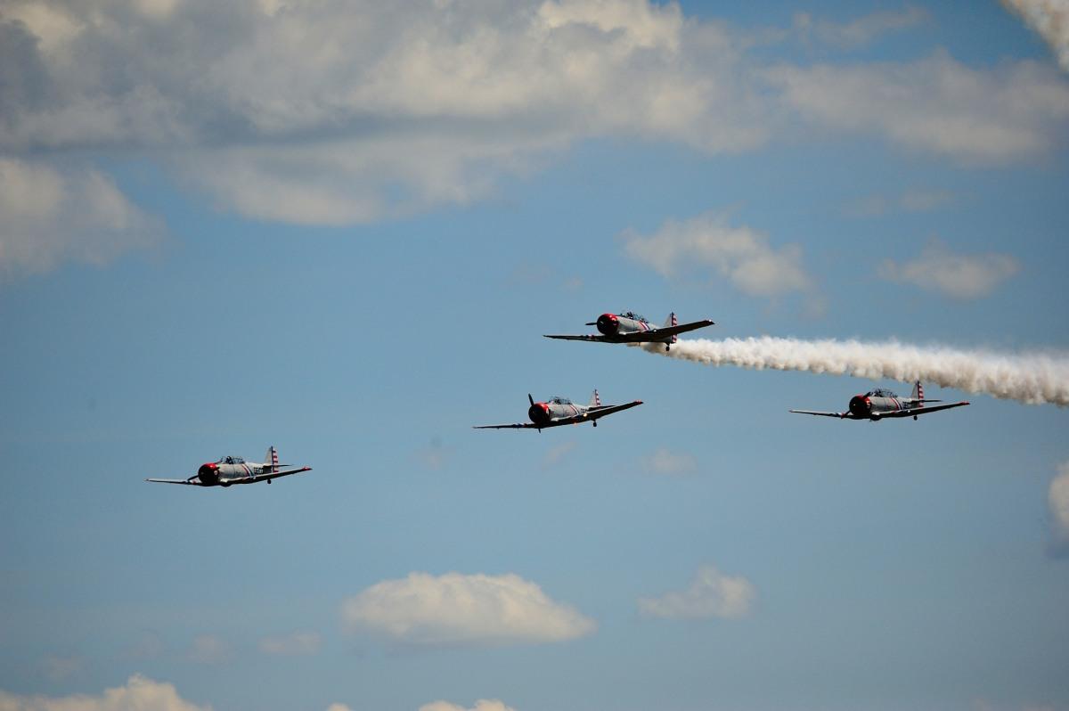 飞行表演 - Air Show, Westfield MA_图1-101