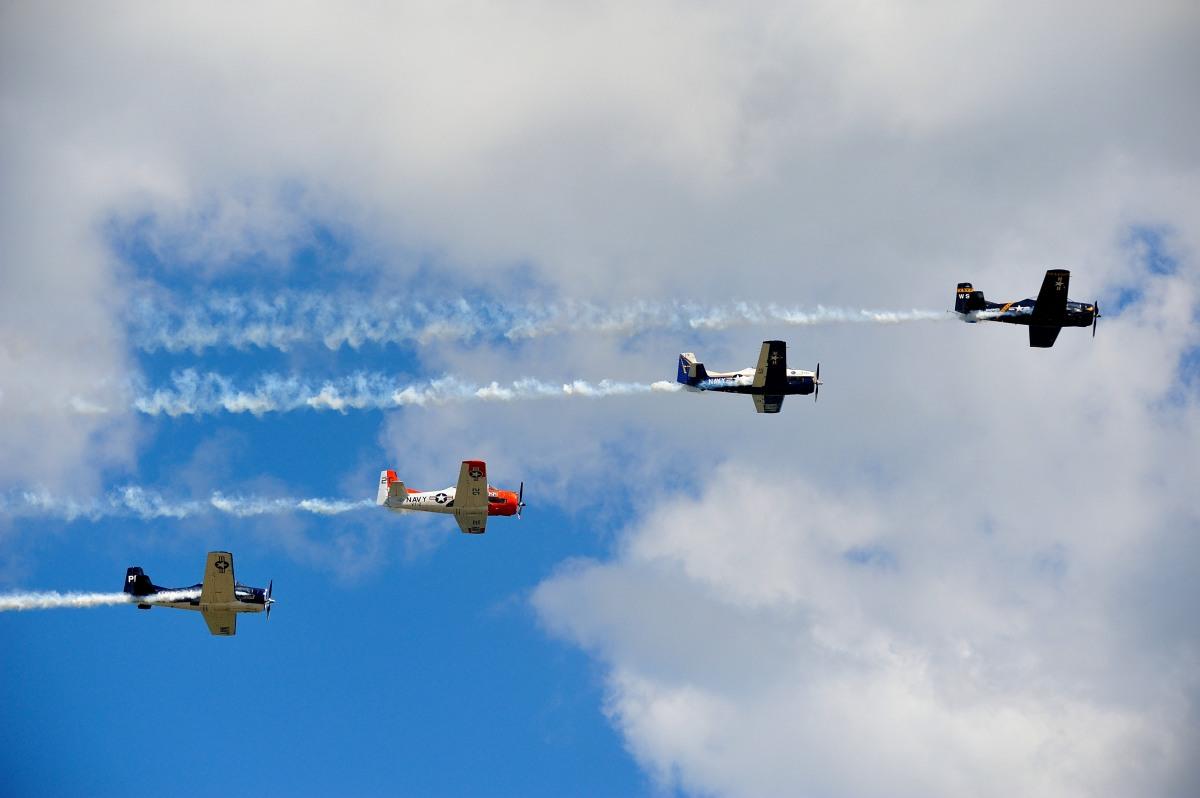 飞行表演 - Air Show, Westfield MA_图1-55