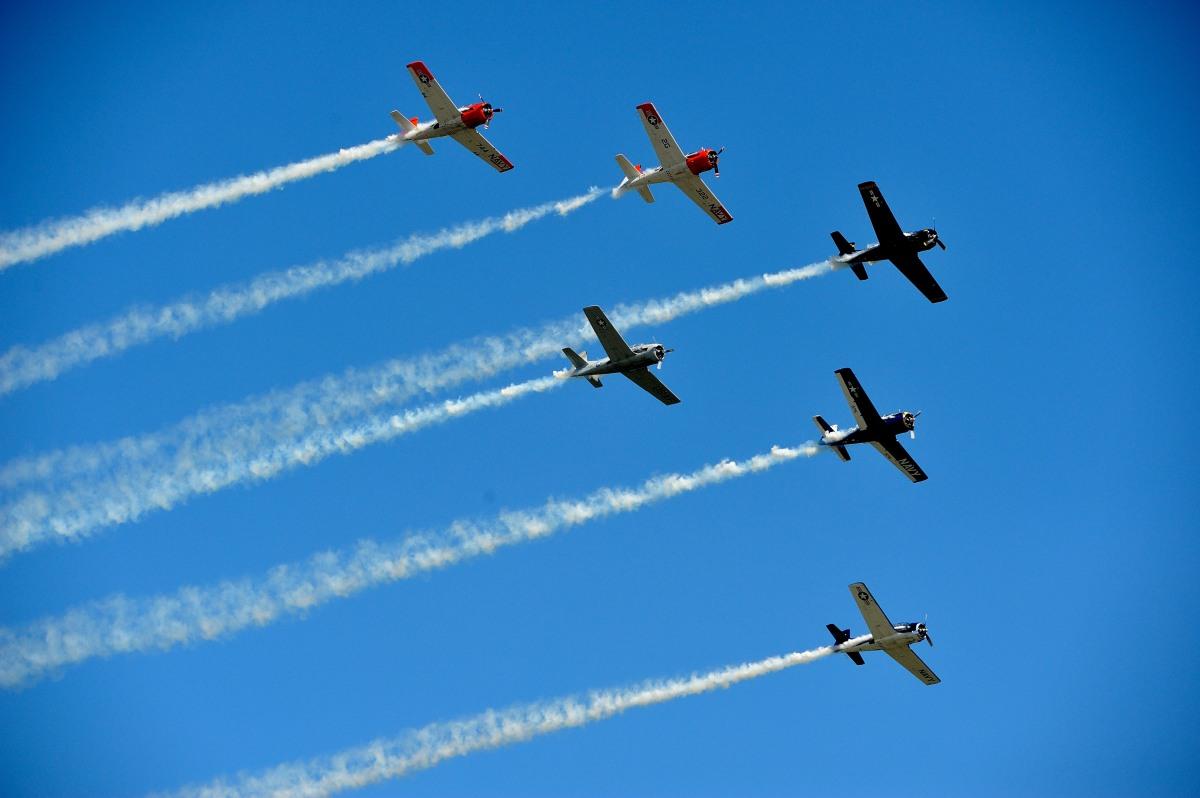 飞行表演 - Air Show, Westfield MA_图1-59
