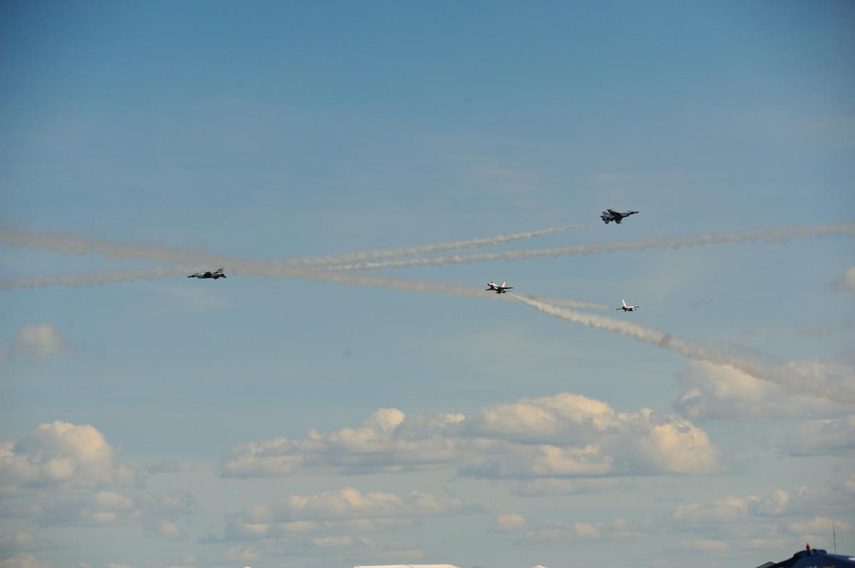 飞行表演 - Air Show, Westfield MA_图1-80