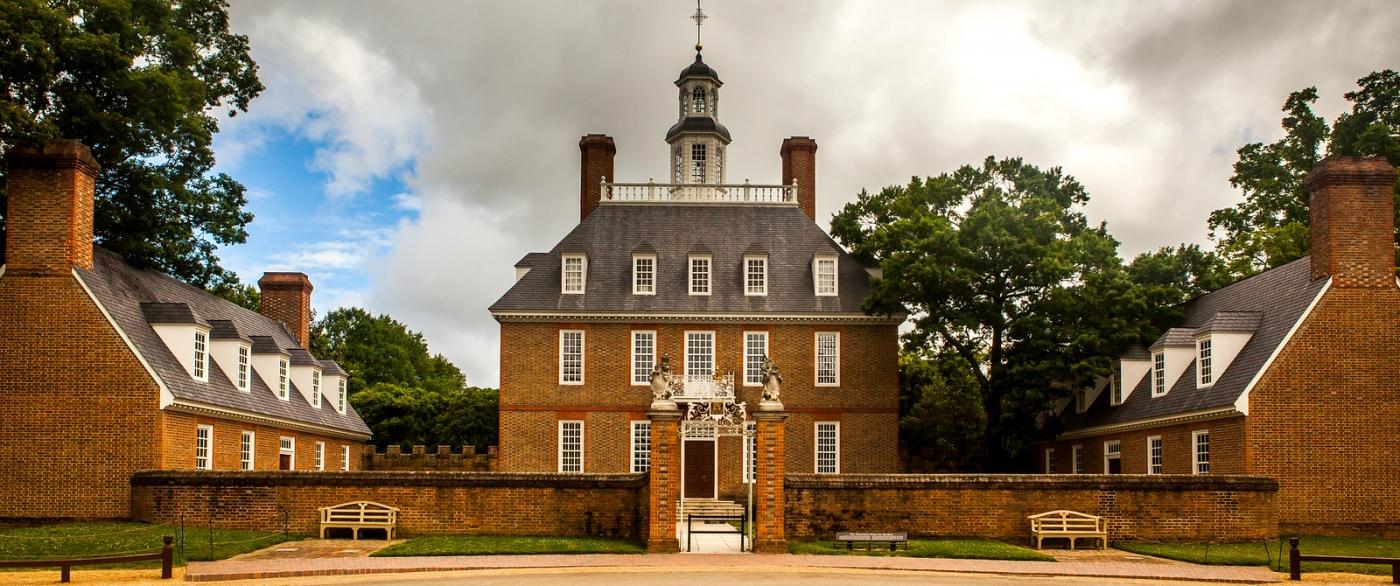 威廉斯堡,在美国最早的英国殖民地_图1-1