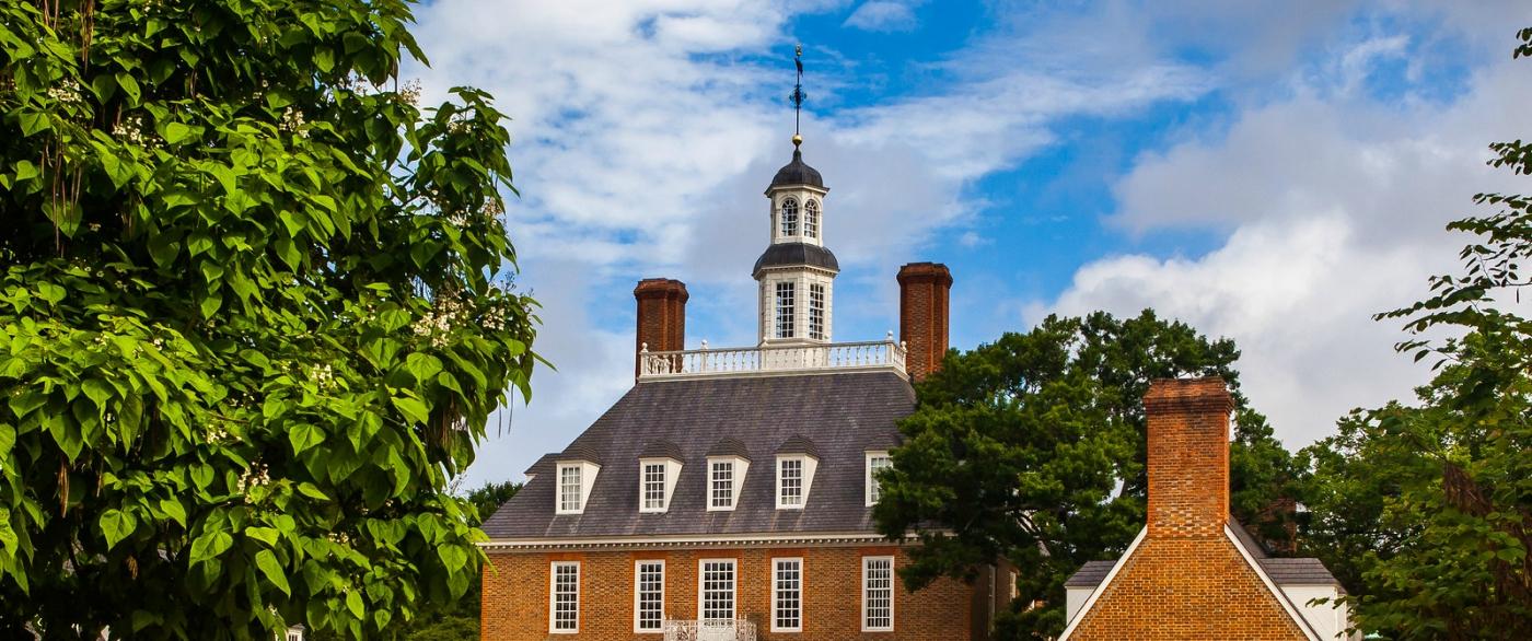 威廉斯堡,在美国最早的英国殖民地_图1-2