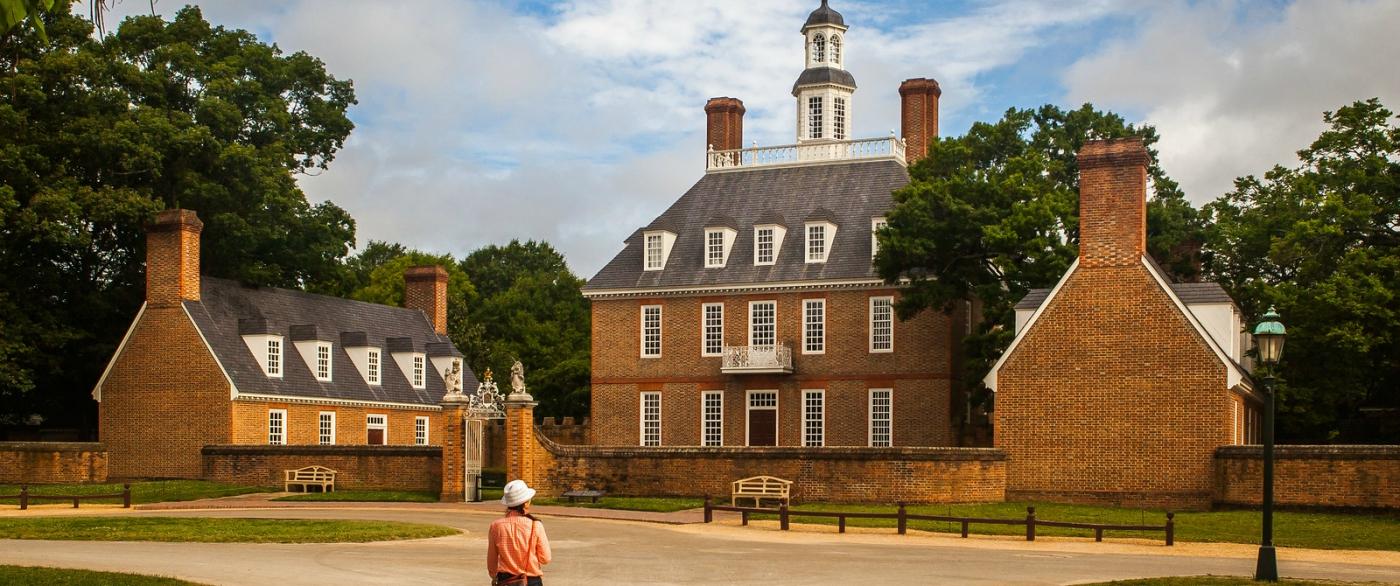 威廉斯堡,在美国最早的英国殖民地_图1-3