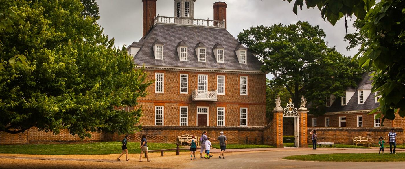 威廉斯堡,在美国最早的英国殖民地_图1-6