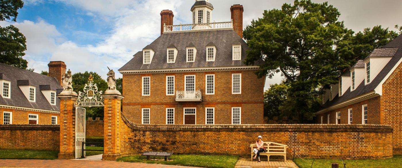 威廉斯堡,在美国最早的英国殖民地_图1-8