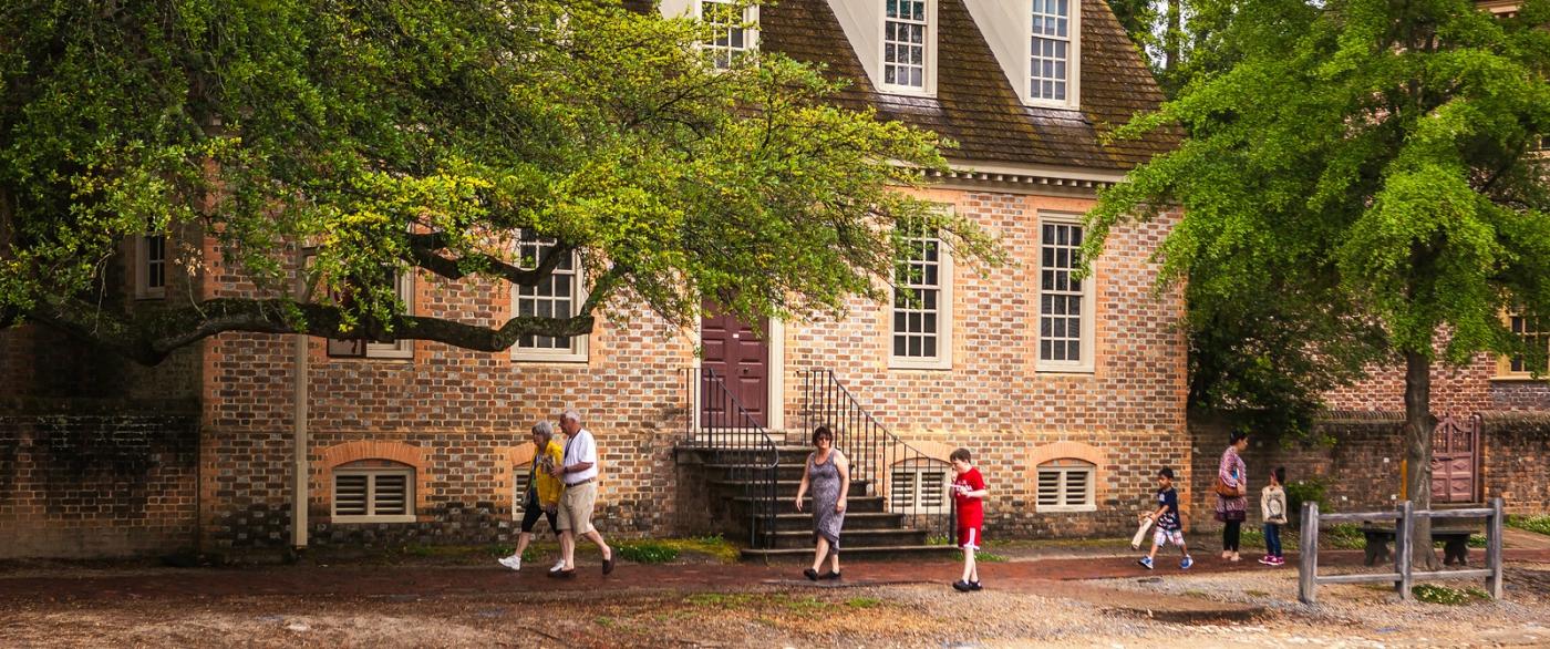 威廉斯堡,在美国最早的英国殖民地_图1-9